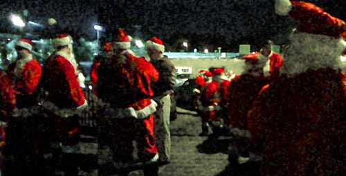 Rugby Santas
